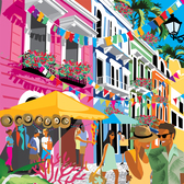 Ellen Byrne - Architecture, Crowd, Cultural, Editorial, Graphic, Holiday, People, Retail, Stylized, Travel/Transportation, Vacation, Vector Art